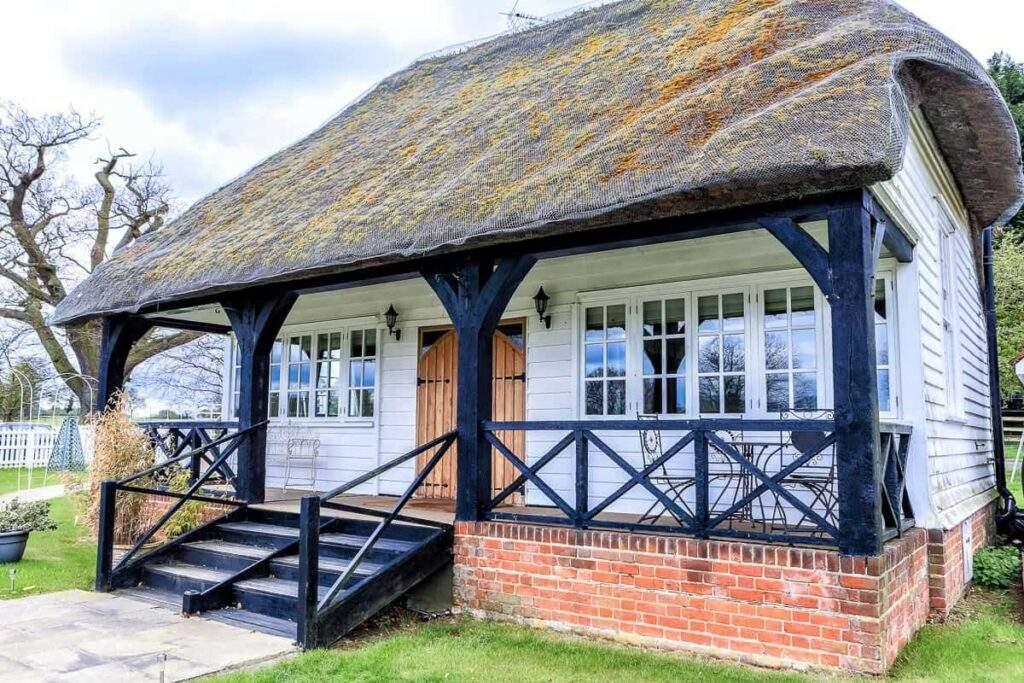 Parklands Quendon hall bridal cottage