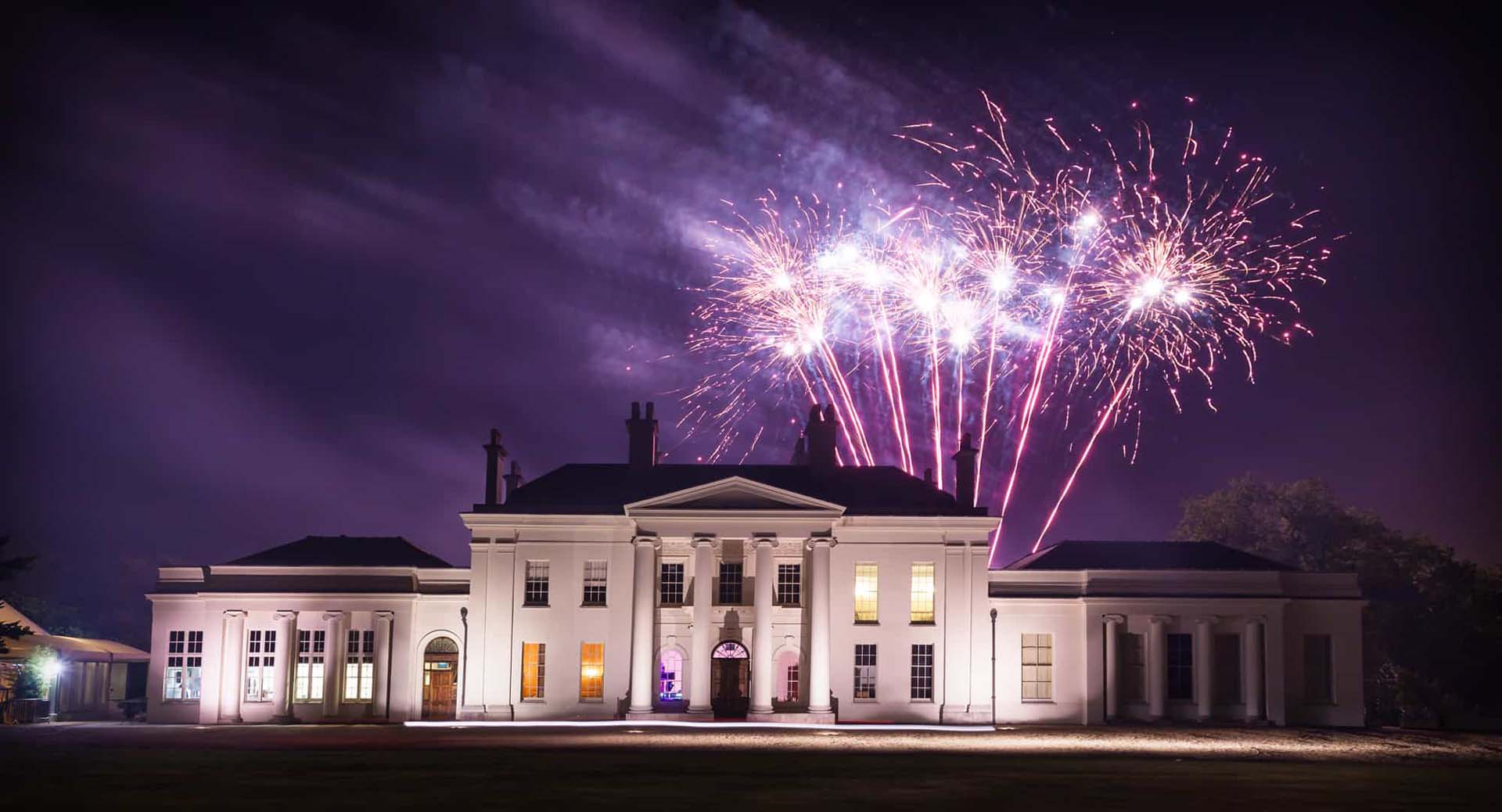 Hylands House fireworks photo | Chelmsford