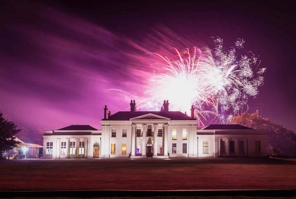 Hylands House fireworks photo