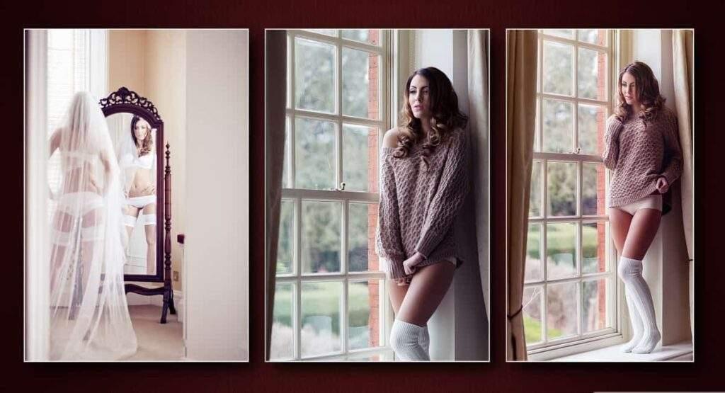 Bridal boudoir photographer Leigh on sea Essex