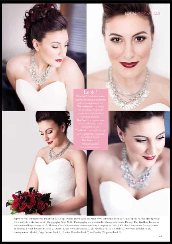 Latest bridal hair and makeup styles - Scott Miller photography 122