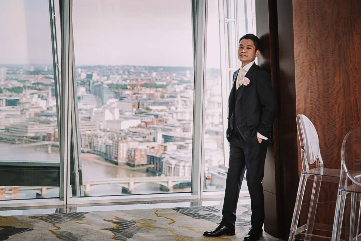 Michelle and Tze - the Shard-4105